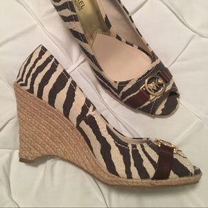 Michael Kors Safari Sandals Size 11